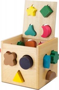 Cub invatare Forme Geometrice (16 forme)0