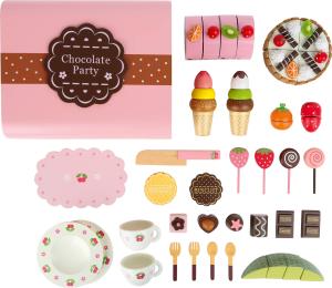 Candy Bar, cutia cu dulciuri, din lemn1