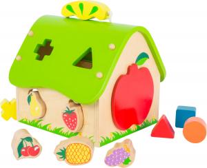 Casa Fructelor, jucarie cu forme0