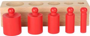 Joc cilindri colorati Montessori4