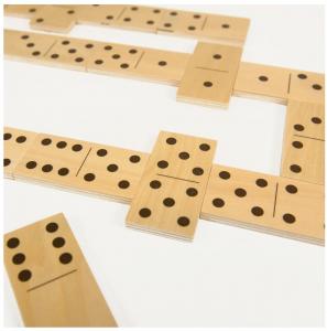 Joc de lemn 2 in 1, puzzle domino cu animale4