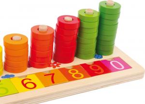 Joc de numarat Inele colorate2