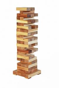Joc de exterior din lemn Turnul Instabil [1]