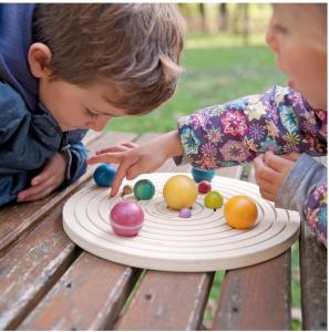 Sistemul solar 3D, joc educativ din lemn1