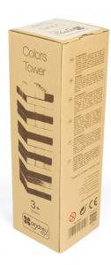 Joc Turnul colorat din lemn cu 48 de piese, Jenga, pentru 2 jucatori3