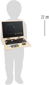 Laptop din LEMN Scriem si Socotim, cu tablita magnetica3