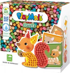 Pufuleti PlayMais® MOSAIC, Set de creatie Animale din Padure0