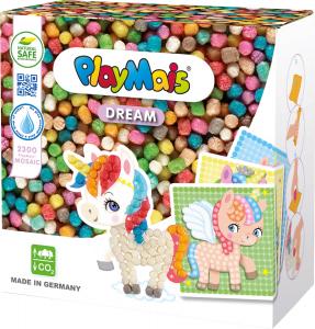 Pufuleti PlayMais® MOSAIC DREAM Unicorn, Set de activitati creative0