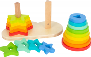 Potriveste Formele, joc din lemn curcubeu1