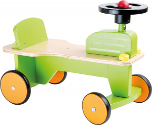 Primul meu tractor, vehicul din lemn [0]