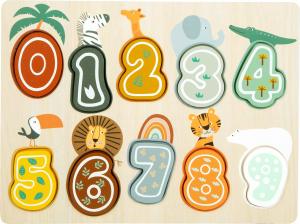 Puzzle cifre Safari0