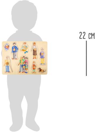 Puzzle incastru Familia si Prietenii [2]