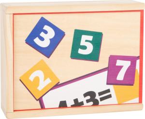 Joc educativ din lemn Adunarea si Scaderea5