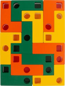 Joc Tetris din lemn - Sa aranjam formele geometrice3