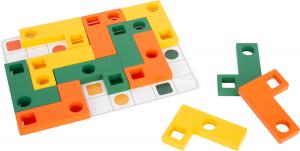 Joc Tetris din lemn - Sa aranjam formele geometrice2
