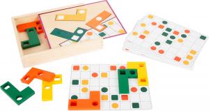 Joc Tetris din lemn - Sa aranjam formele geometrice0