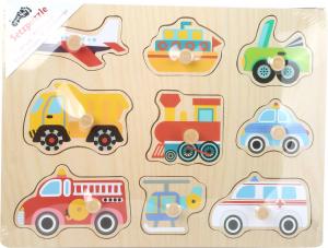 Puzzle din lemn Vehicule1