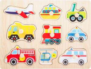 Puzzle din lemn Vehicule2