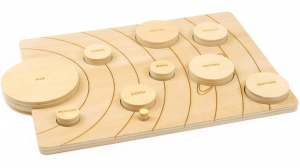 Sistemul solar, puzzle educativ din lemn [8]