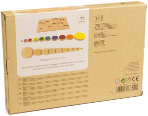 Sistemul solar, puzzle educativ din lemn [3]