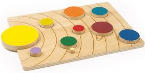 Sistemul solar, puzzle educativ din lemn [2]
