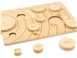 Sistemul solar, puzzle educativ din lemn [6]