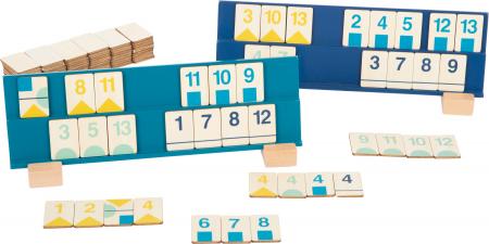 Rummy, jocul cifrelor, in culori pastel0