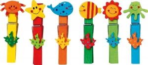 Set carlige cu diferite forme amuzante-24 de bucati3