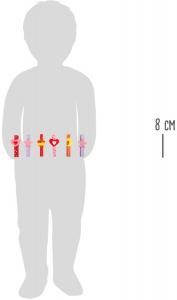 Set carlige cu diferite forme amuzante-24 de bucati4