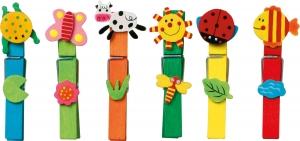 Set carlige cu diferite forme amuzante-24 de bucati1