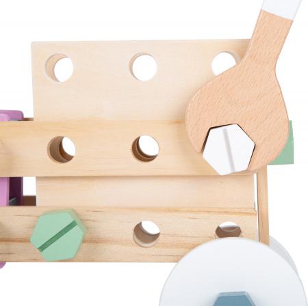 Set de construit Mesterul Priceput in culori pastel1