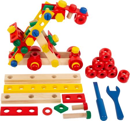 Set de construit Suruburile colorate0