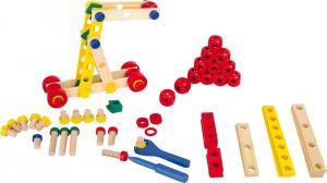 Set de construit Suruburile colorate1