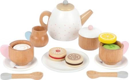 Set cadou pentru ceai si cafea cu accesorii, din lemn [0]