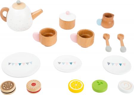 Set cadou pentru ceai si cafea cu accesorii, din lemn [1]