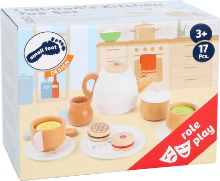 Set cadou pentru ceai si cafea cu accesorii, din lemn [2]