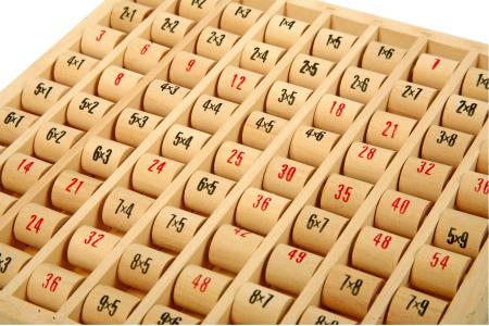 Tabla inmultirii din lemn, format mare2