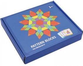 Tangram-joc din lemn pentru dezvoltarea imaginatiei cu 155 de piese [0]