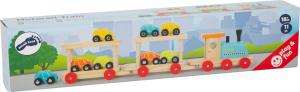 Trenul cu 8 masinute din lemn5