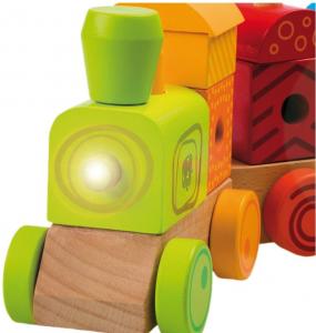 Trenulet multicolor cu sunete si lumina1