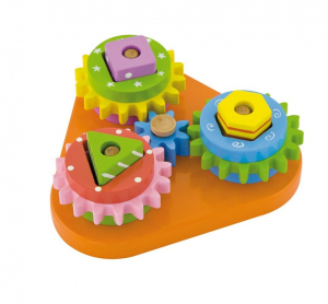 Triunghiul micului inginer, Rotite Interconectate, 14 piese3