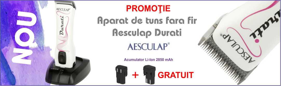 Banner aparat tuns Aesculap Durati