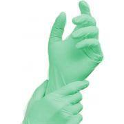 """Manusi examinare premium """"Green touch"""",200buc/cutie 0"""