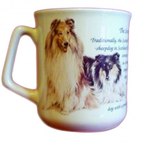 Cana ceramica The Scottish Collie - E06-1079 1
