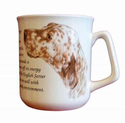 Cana ceramica The English Setter - E06-1140 1