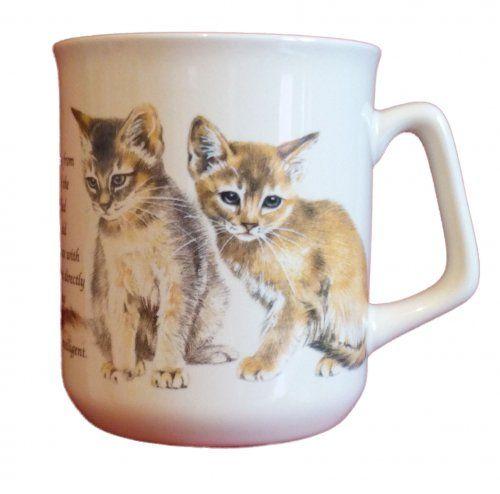 Cana ceramica The Abessinian Cat - E06-1034 1