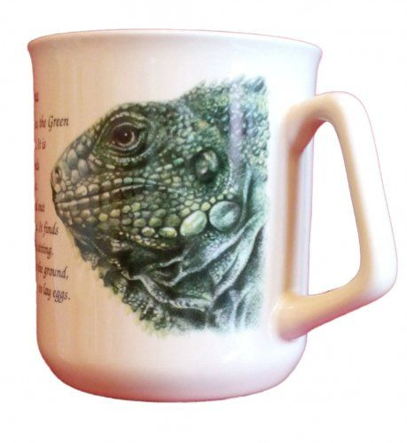 Cana ceramica The Green Iguana - E06-1097 0