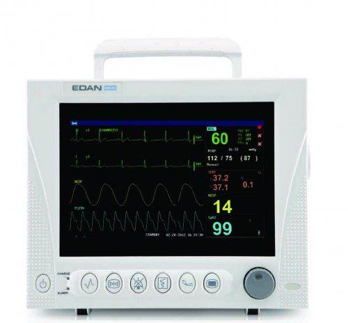 "Monitor functii vitale iM8VET, ecran LCD 12.1"" 1"