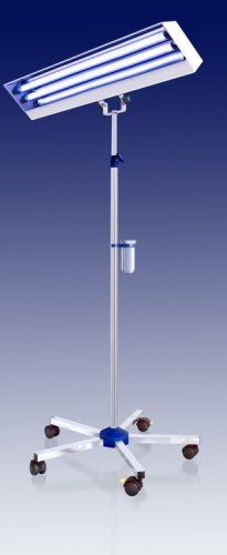 Lampa bactericida LBA 2x15W mobila , tub Philips / Osram 0