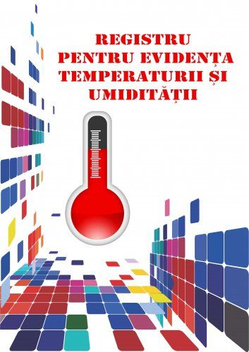 Registru pentru evidenta temperaturii si umiditatii 0